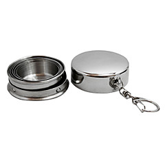 Outdoor Stainless Steel Six Folding Cup