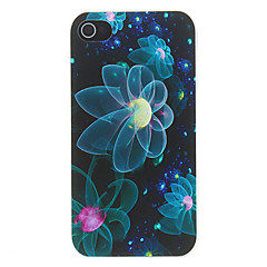 Dazzle Flowers Pattern Matte Designed PC Hard Case for iPhone 4/4S