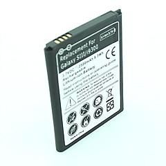 Batteria di ricambio Sostituito per Samsung Galaxy S3 i9300 (2500mAh 3.7v)