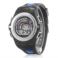 Unisex Multi-Functional Alloy Case Rubber Band LCD Digital Running Sport Wrist Watch (Assorted Colors) Cool Watch Unique Watch