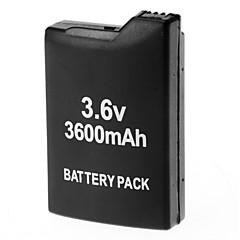 3.6V 3600mAh oppladbart Li-ion batteripakke for PSP 1000