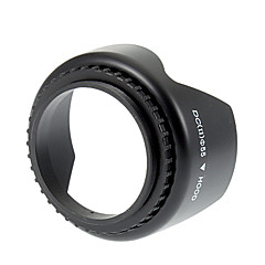 Universal 55mm Screw Mount Lens Hood for Nikon / Canon