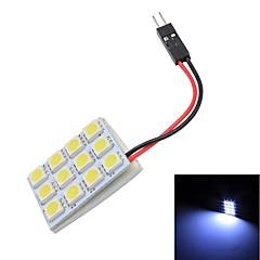 Merdia T10 12 x 5050 SMD LED bianco lettura della lampadina (12V)