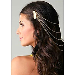 Fashion Tassel Assorted Color Alloy Hair Combs For Women(Gold,Silver)(1 Pc)