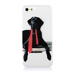 Dog Pattern Silicone Soft Case for iPhone4/4S