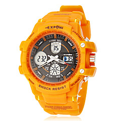 Unisex Multi-Function Analog-Digital Rubber Band Outdoor Sports Wrist Watch (Assorted Colors) Cool Watch Unique Watch