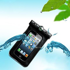 Candy Color Waterproof Underwater Pouch with Armband and Compass (Random Color) for iPhone4/4S (Assorted Color)