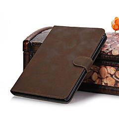 Caso della copertura del fatturato di cuoio di lusso elegante di Retro astuta magnetica per iPad 2/3/4 (colori assortiti)