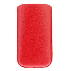 Universal PU läder mobiltelefon påse väska för Samsung Galaxy I9250/I9300