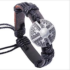 Herre Læder Armbånd kostume smykker Læder Legering Smykker Til Fest Daglig Afslappet