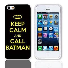 Chame Batman Projeto Caso duro com protetores de tela de 3-Pack para iPhone 5/5S