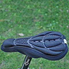 Silica Gel&Sponge& Lycra Thickening Black Bicycle Saddle Cushion