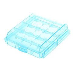 AA / AAA Bateria etui Holder Light Blue