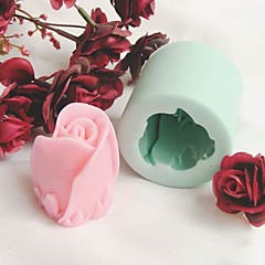 Rose Shaped Silicone Fondant Cake Mold