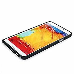 Na Samsung Galaxy Note Odporne na wstrząsy / Ultra cienkie Kılıf Bumper Kılıf Jeden kolor Aluminium Samsung Note 3