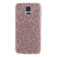 Classic Pink Leopard Print tilbake tilfelle for Samsung S5/i9600