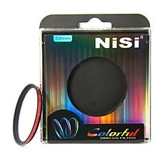 NISI 52mm coloré DMC UV protecteur lentille de filtre Ultra Violet pour Nikon Canon Sony Pentax Olympus Appareils