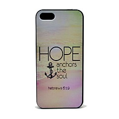 Hope Ankkurit Soul Pattern Hard Case for iPhone 5/5S
