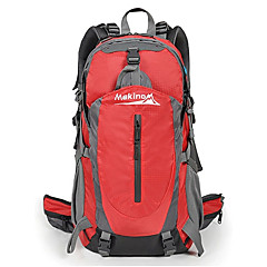 MAKINO 40L Waterproof Nylon Outdoor Backpack with Raincover