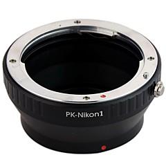 Pentax PK Lens pour Nikon1 J1 V1 Mount Adapter