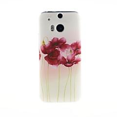 Na Etui do HTC Wzór Kılıf Etui na tył Kılıf Kwiat Miękkie TPU HTC