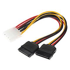 IDE à 2 HDD SATA Disque dur câble d'alimentation (0,15 M)