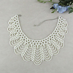 Collar Necklaces Imitation Pearl Party / Daily Jewelry