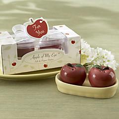 Delicious Red Apple Design Salt & Pepper(2 PCS)
