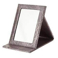 Makyaj Depolama Ayna 16.5*12.2*1.7 Kırmızı