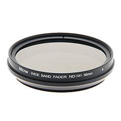 Nicna ND2 ~ ND400 premium Fader numérique Filtre ND (58mm)