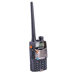 "Baofeng BF-UV5RA Rechargeable 1.5"" Dual-Display Dual-Band Walkie Talkie - Black"