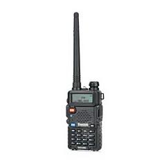 "Besttone BST-UV5R 1.5"" LCD Dual Band Dual Display Walkie Talkie 5W/ FM Radio - Black"
