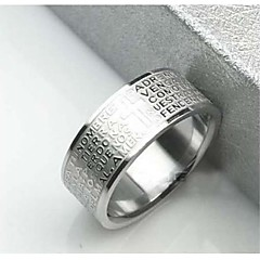 Popular Titanium Steel  Men's Rings(Assorted Size)