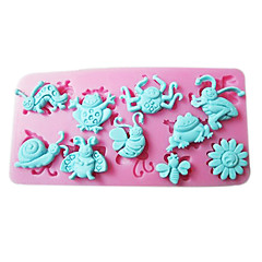 1 Eco-Friendly For Cake / For Cupcake / For Chocolate Silicone Baking Mold