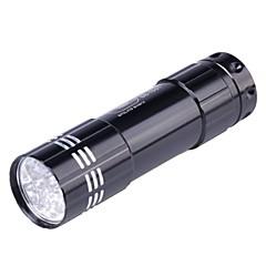 KPT JD001 9-LED 50lm 1-Mode Cool White Light lommelykt - Grå