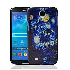 Doctor Who Pattern muovi kova suojakotelo Samsung Galaxy S4 i9500
