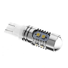 T10 5W 10x2323SMD 6000K Cool White Light LED-Birnen für Auto (12V)