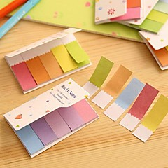 Gradient Rainbow Color Double Sides Zelf Stick Note