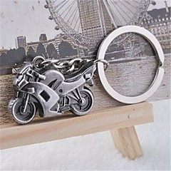 Belle personnalité autoritaire rue Cool lourde moto Acier inoxydable Porte-clés