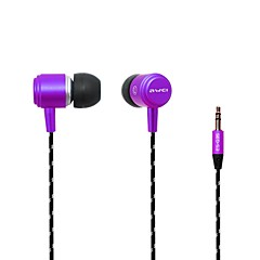 Mode AWEI Q353.5mm Plug In-Ear alliage d'aluminium Super Bass écouteurs