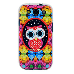Cartoon Owl Pattern Soft TPU Imd Case for Samsung Galaxy S3 I9300