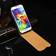Genuine Flip piele de caz pentru Samsung Galaxy I9600 S5