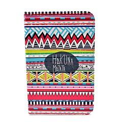 Modelo tribal Alfombra Hakuna Matata Caso de cuerpo completo con soporte para Samsung Galaxy Tab 2 7.0 P3100