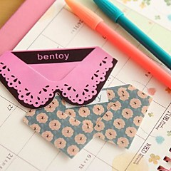 Collar Tie Shape Plastic Bookmarks