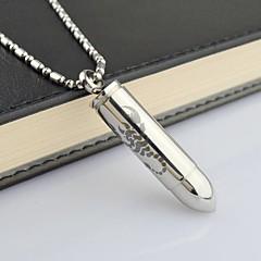 mens necklace  Vintage  Black Scorpion Titanium Steel Pendant Necklace