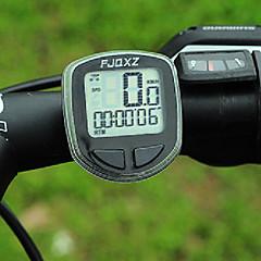 Bike Computer,FJQXZ Portable Wireless LCD Black Bicycle Speedometer/Stopwatch