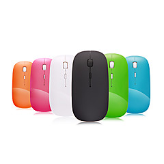A100 2.4GHz Wireless souris optique ultra mince mini dpi réglable (couleurs assorties)