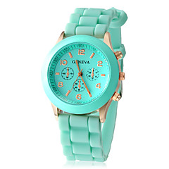 Women's Watch Fashion Silicone Strap