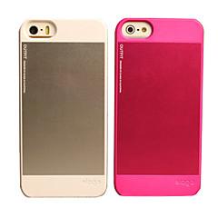 Estilo de visita del metal sólido Color del caso duro para el iPhone 5/5S (colores surtidos)