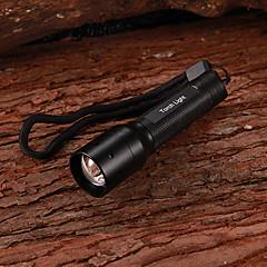 Lampes Torches LED / Lampes de poche LED 1 Mode 130 Lumens Petit / Taille Compacte Cree XR-E Q5 AA Multifonction - AutresAlliage